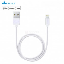 Mili Lightning Cable Plus  1meter white image here