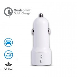 Mili Smart Pro Car Charger White image here