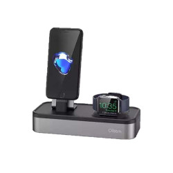 Gtronics,Oittm Apple Iphone and Watch Stand Aluminum Charging Dock Station,black,OI915ELAAG3ISHANPH-32918026 image here