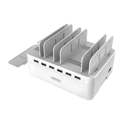 Gtronics,Unitek Y-2181 Charging Station 6-Port,white,004Y-2181 image here