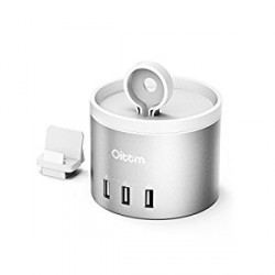 OiTTM 4-Port Multifunctional Charger  Silver image here
