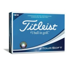 Titliest, TOURSOFT 2018 Golfballs, White, T4011S image here