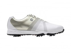 FJ SHOES ENERGIZE- WHITE+SILVER image here