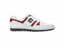 FJ SHOES GREENJOYS - WHITE+BURGUNDY+BLACK image here
