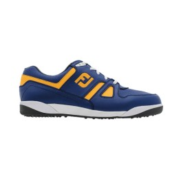 FJ SHOES GREENJOYS SPIKELESS - Blue + Melon image here
