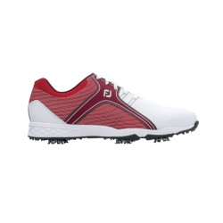 FJ SHOES ENERGIZE - White + Red image here
