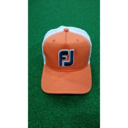 FJ,MESH CAP, Orange, FJHW1607 - orange+white image here