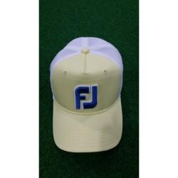 FJ,CAP MESH, White, FJHW1607 - LT.Yellow+white image here