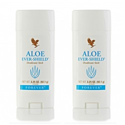 FOREVER LIVING ALOE EVER-SHIELD DEODORANT STICK SET OF 2 STICKS,2X067 image here