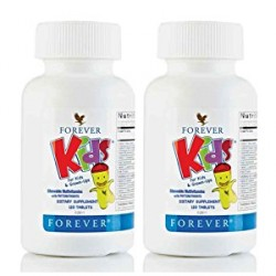 FOREVER LIVING KIDS CHEWABLE MULTIVITAMINS SET OF 2,2X354 image here