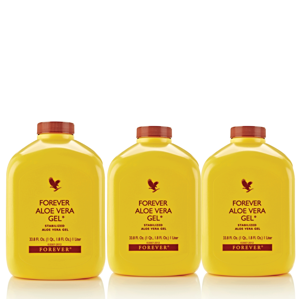 FOREVER LIVING ALOE VERA GEL SET OF 3 image here