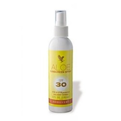 FOREVER LIVING ALOE SUNSCREEN SPRAY image here