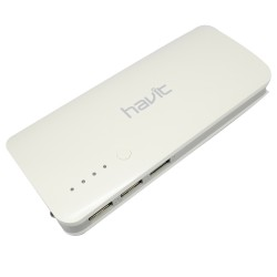 Havit HV-PB112 13,000 mAh Mobile Battery with 3 USB Ports (White) image here