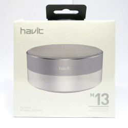 HAVIT HV-M13-WS PORTABLE BLUETOOTH SPEAKER image here