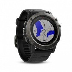 Garmin, Fenix 5x,Sapphire,Slate Gray,GPS Watch, SEA , Black, 010-01733-10 image here