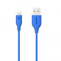 Anker Powerline Lightning 3ft Blue image here