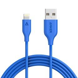 Anker PowerLine Lightning 6ft Blue image here