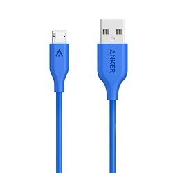 Anker PowerLine Micro USB (3ft) Blue image here