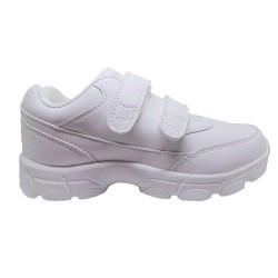 Dr Kong Triple White Sneakers Anti-Static White Rubber Shoes image here