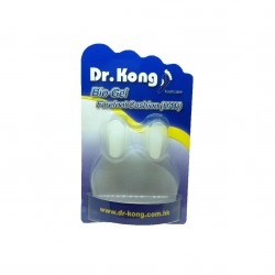 Dr Kong, Forefoot Cushion (HAV) Hallux Valgus Splint Hyperpronated Foot Pain Toe Separator Prevents Corns and Callus Bunion Pain Relief, White, DKA31 image here