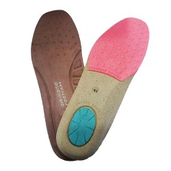 Dr Kong Pro-Healthy Comfort Insole w/ Bio-Foam Material Arch Support Shock Absorbent Insole Pad for Plantar Fascitis image here
