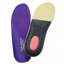Dr Kong Universal Plus Polyurethane High Arch Support Foot Insole Pad for Plantar Fascitis Over Pronated Foot Excellent Comfort Foot Cushion image here