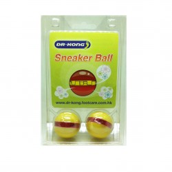 Dr Kong, Sneaker Ball Shoe freshener Anti-Bacterial Removes Bad Odor Smelly Feet Foot Freshener, Yellow, DKA39 image here