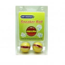 Dr Kong, Sneaker Ball Shoe freshener Anti-Bacterial Removes Bad Odor Smelly Feet Foot Freshener, Yellow, DKA39 image here