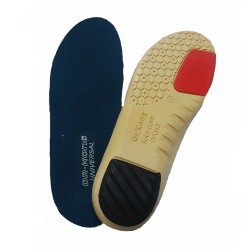 Dr Kong Universal 1 Polyurethane Mild Arch Support Foot Insole Pad for Flatfoot Plantar Fascitis Pronated Foot Excellent Comfort Foot Cushion image here