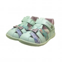 DR. KONG BABY SHOES - WHITE PINK image here