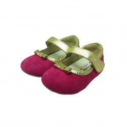 DR. KONG BABY SHOES - CHERRY image here