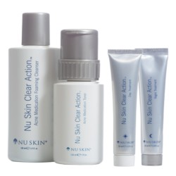 NU SKIN  CLEAR ACTION® SYSTEM (ACNE-PRONE SKIN) image here