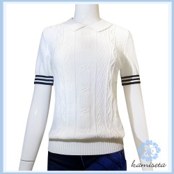 White Hayla Blouse image here