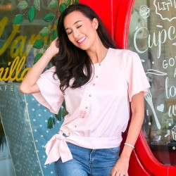 Pink RAYNETTE Blouse image here
