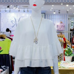 White KIERSTY Blouse image here