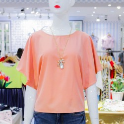 Peach LAURIE Blouse image here