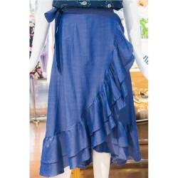 Solange Denim Skirt image here