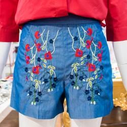 Zevry Blue Shorts image here