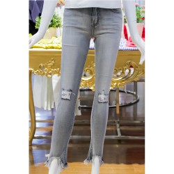 Kamiseta,Dilean Gray Jeans,Gray,A02612901352831000-1 image here