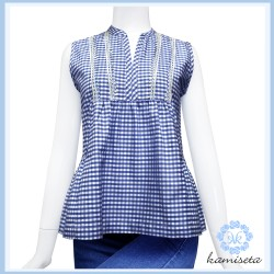 W - ARWY Royal Blue Checkered image here