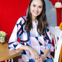 CARMIYA Printed Pink image here