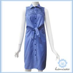 W - DESHAN Denim Dress image here