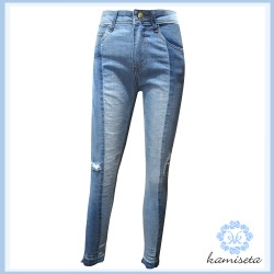 Kamiseta,W - NAYELI Denim,Navy,A02620101351441000-1 image here