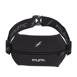 FITLETIC Mini Sports Pouch MBS01-1 Black/Black image here