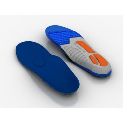 SPENCO Insoles Total Support Gel 463-00 Blue image here