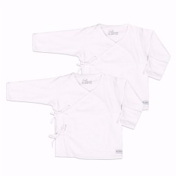 St. Patrick Essentials | Tie-Side Shirt Long Sleeves White image here