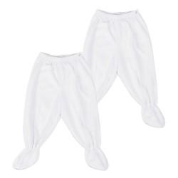 St. Patrick Essentials   Footie Pajamas White image here