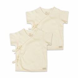 St. Patrick Organic   Tie-Side Shirt Short Sleeves image here