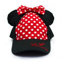 Disney Mickey and Minnie Minnie Mouse 3D Cap image here