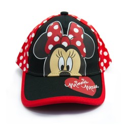 Disney Mickey and Minnie  Minnie Mouse Polka Dot Cap image here